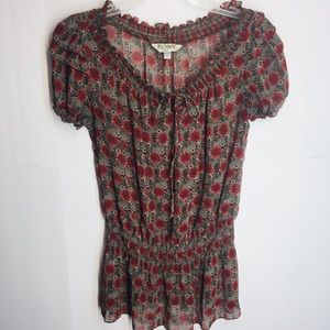 ROMY Floral Tee | Size S